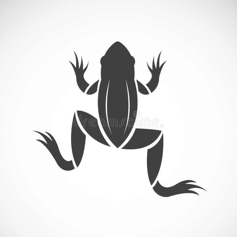 Imagen del vector de un diseño de la rana ilustración del vector