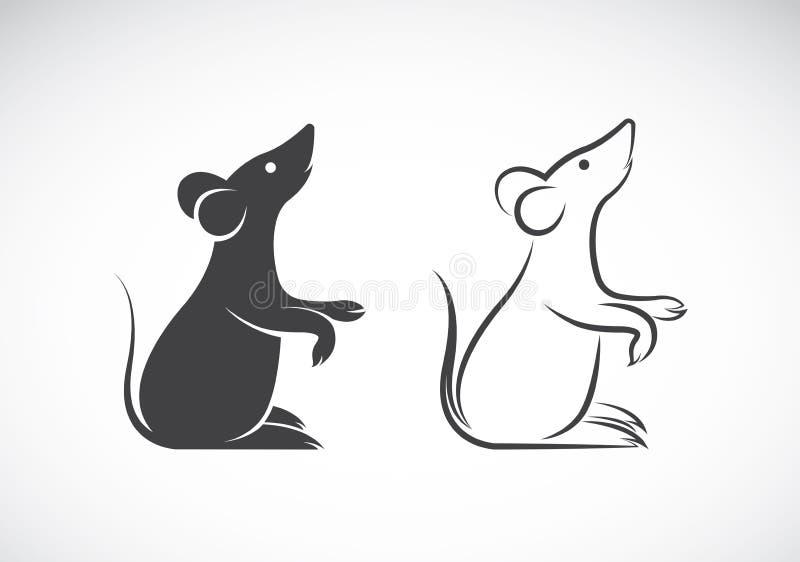 Imagen del vector de un diseño de la rata ilustración del vector