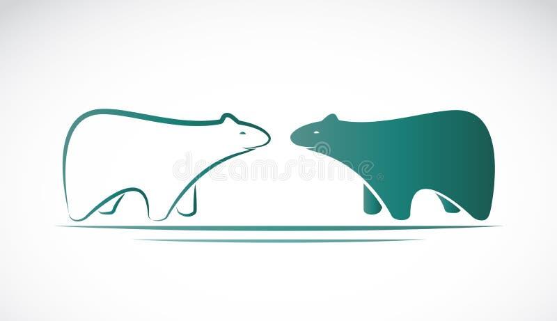 Imagen del vector de un diseño del oso libre illustration