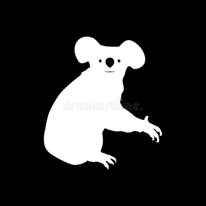 Imagen del vector de un diseño del oso de koala ilustración del vector