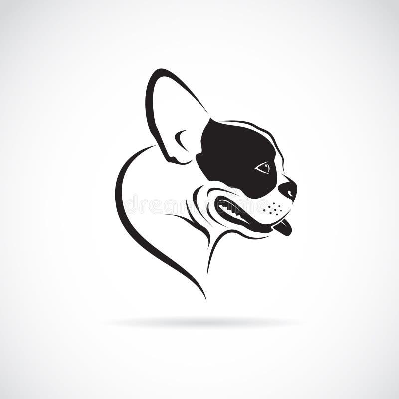 Imagen del vector de un perro (dogo) ilustración del vector
