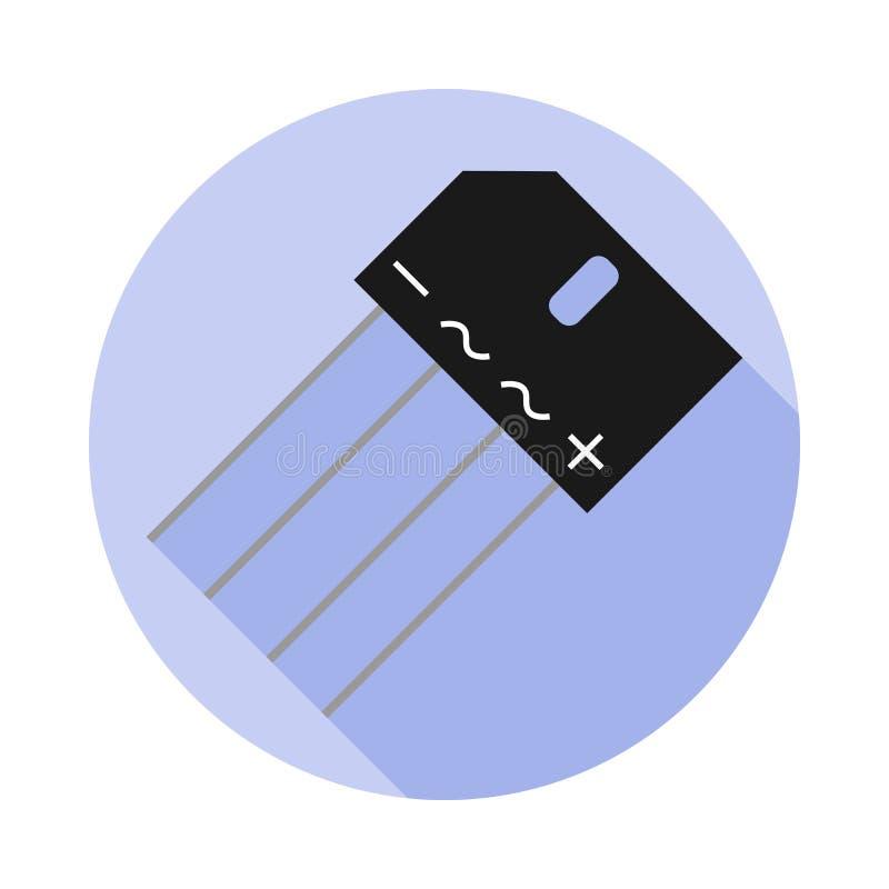 Imagen del vector de un puente del diodo ilustración del vector