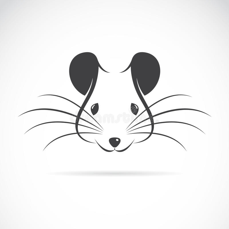 Imagen del vector de una cabeza de la rata libre illustration