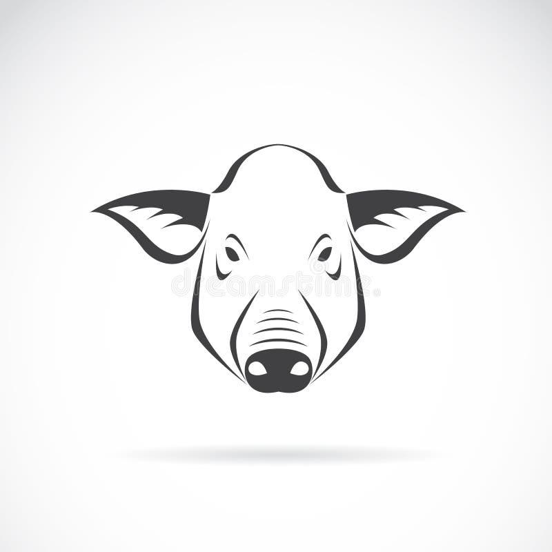 Imagen del vector de una cabeza del cerdo libre illustration