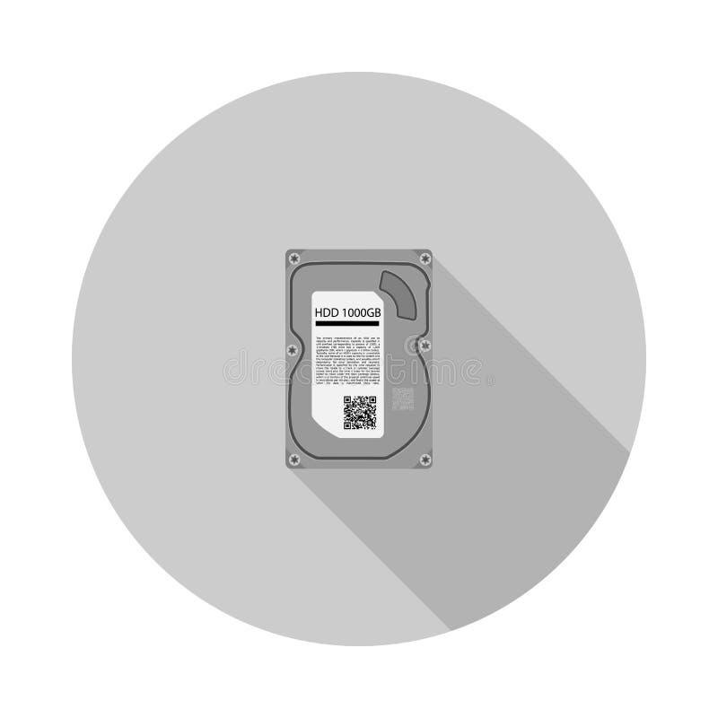 Imagen del vector del disco duro ilustración del vector