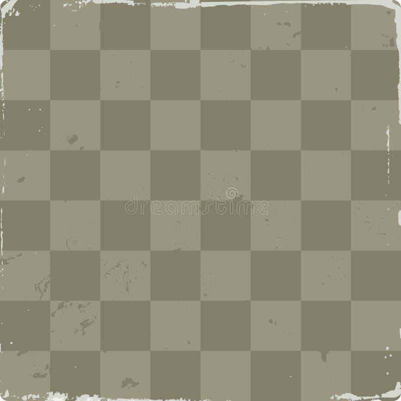 Imagen del vector del tablero de ajedrez stock de ilustración