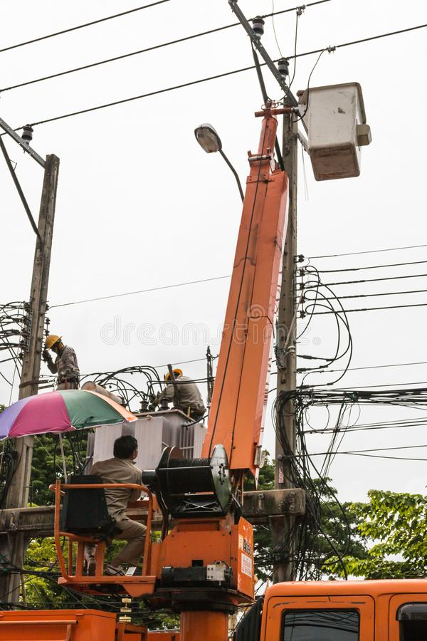 Imagen editorial de Bangkok, Tailandia - 5 de agosto de 2017 fotografía de archivo libre de regalías