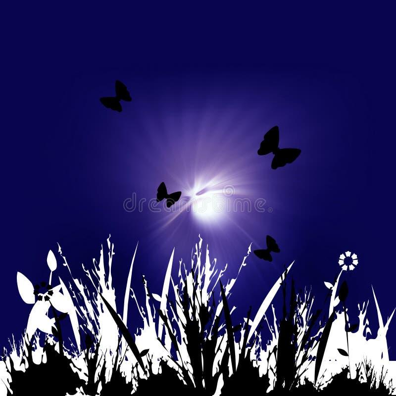 Imagen floral ilustración del vector