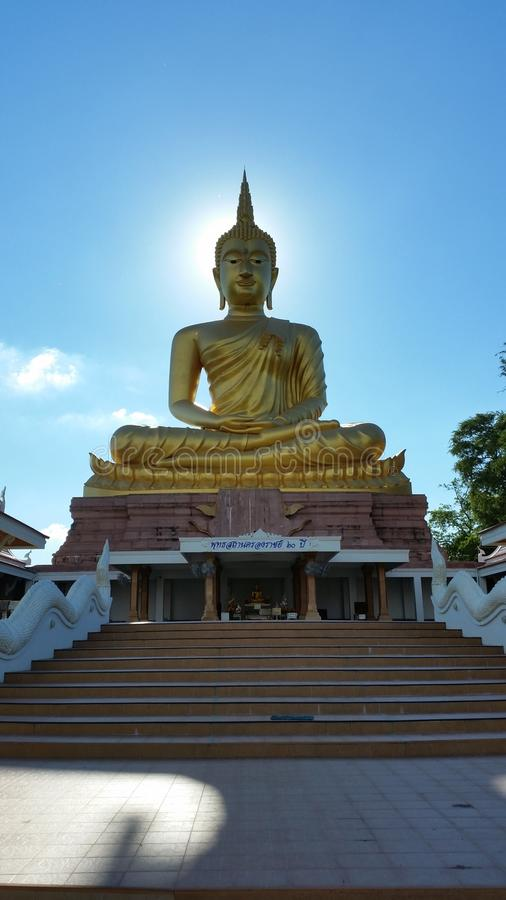 Imagen grande de Buddha imágenes de archivo libres de regalías