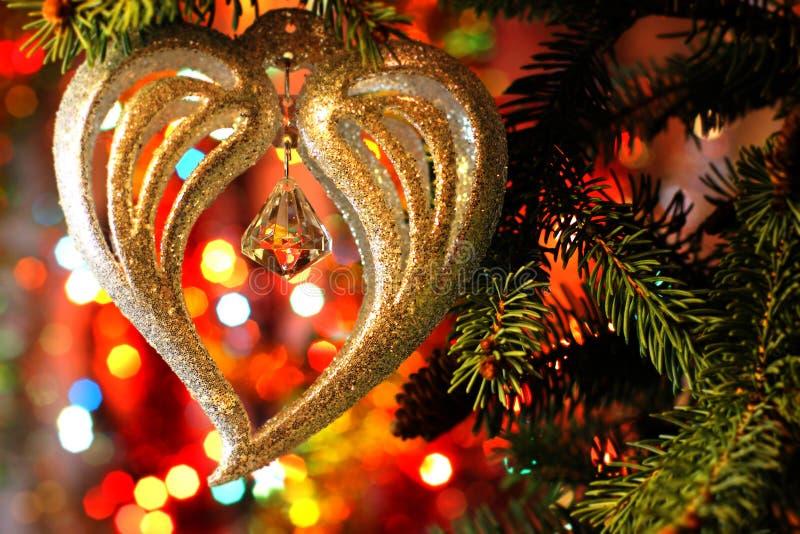 Imagen hermosa de la Navidad con el fondo de la celebración del árbol de navidad y de los Años Nuevos y de la Nochebuena con una  imágenes de archivo libres de regalías