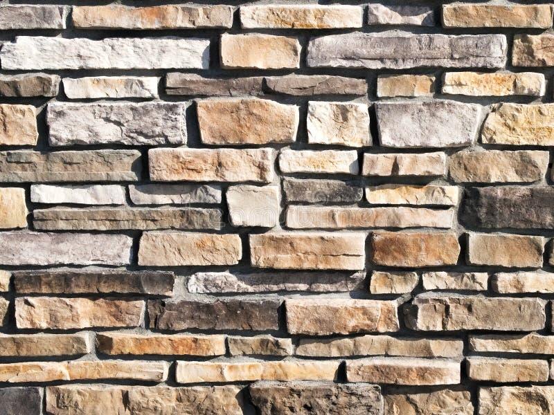 Imagen moderna del concepto de la textura del fondo de la pared de piedra foto de archivo libre de regalías