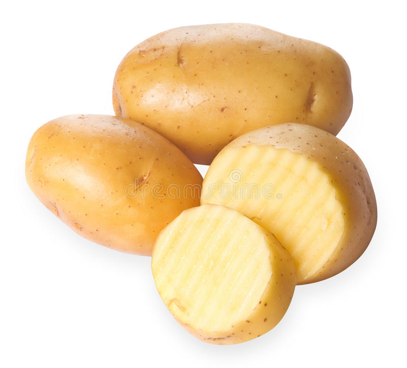 Imagen Niza de patatas imagenes de archivo