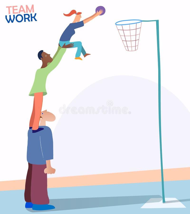Imagen que representa trabajo en equipo y a Team Spirit Vector - EPS10 libre illustration