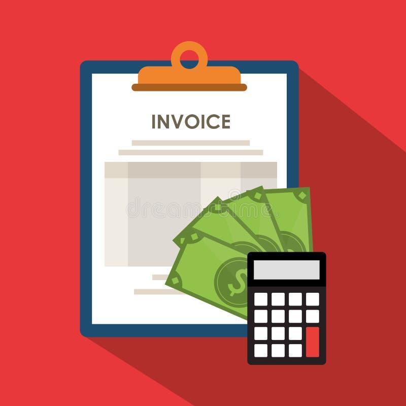 imagen relacionada de los iconos de la economía de la factura libre illustration