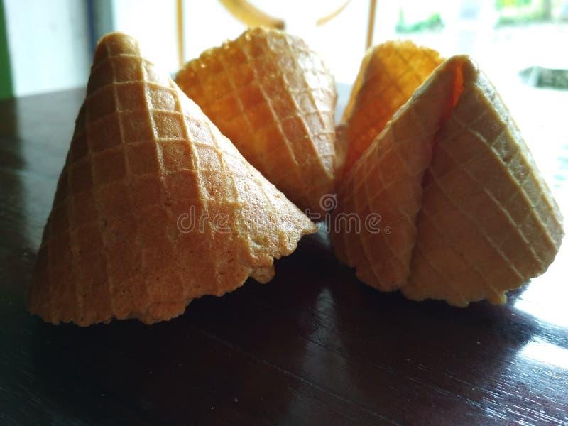 Imagen secada de la empanada y de la galleta del codo imagenes de archivo