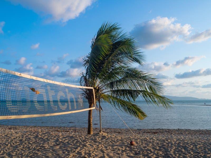 Imagens bonitas dos Sandy Beach em Koh Phangan fotografia de stock royalty free