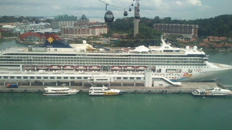Imagens do cruzeiro de Singapura no dia imagem de stock royalty free