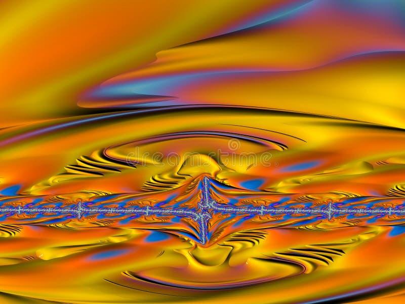 Imagens do Fractal multicoloridos ilustração stock