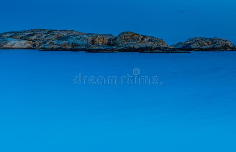 Imagens mostram Verdens Ende na ilha de Tjome na Noruega, escandinávia imagens de stock