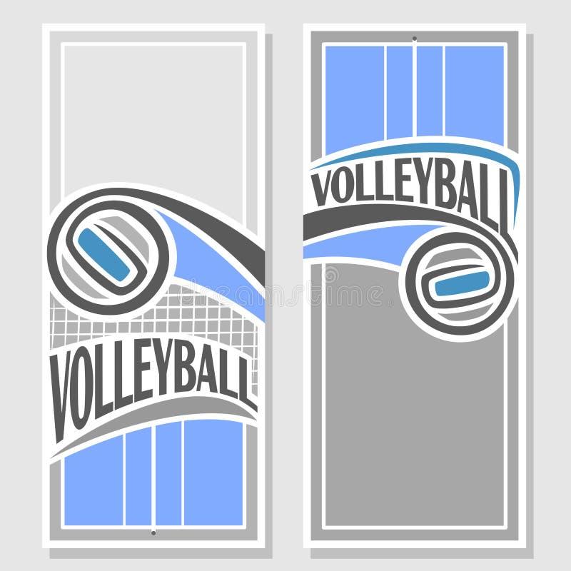 Imagens para o texto a propósito do voleibol ilustração do vetor