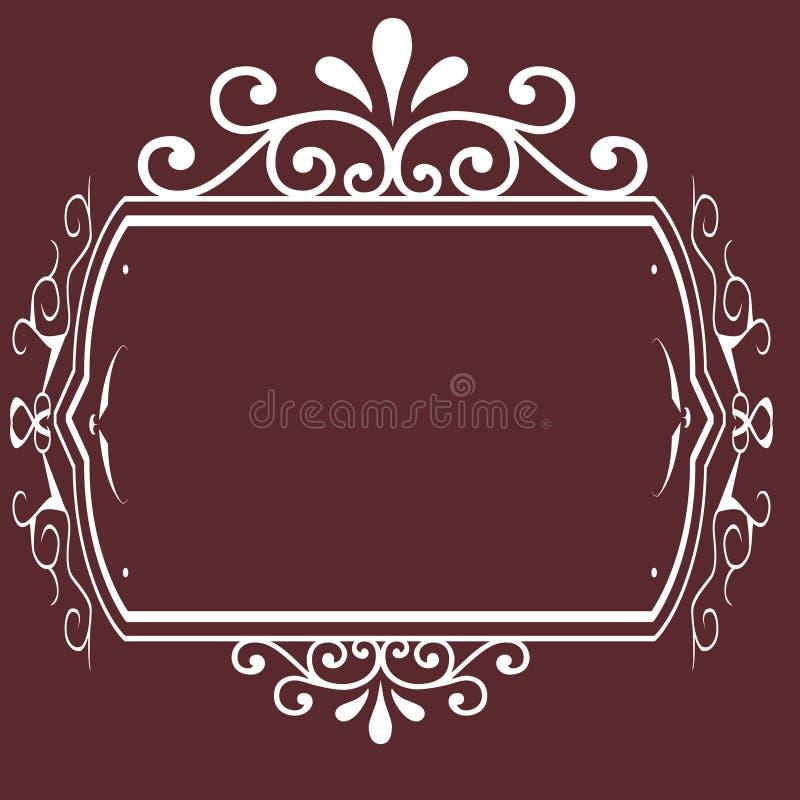 Vintage Frame Background Design Stock Photography