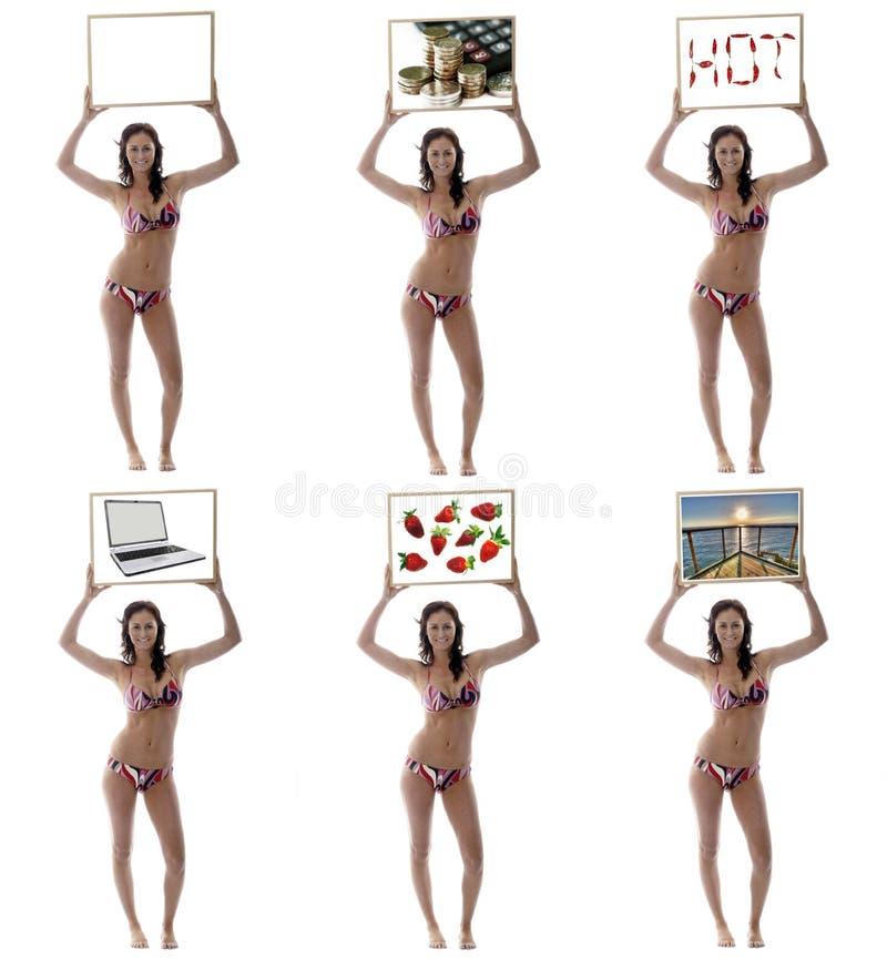 Images assorties d'une fille image libre de droits