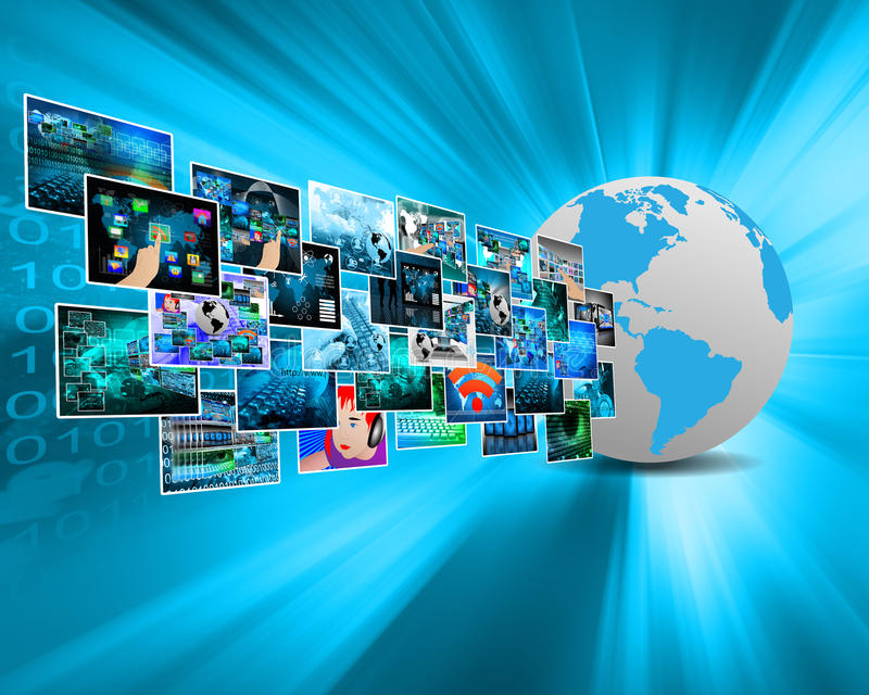 Images In Cyberspace Stock Photography