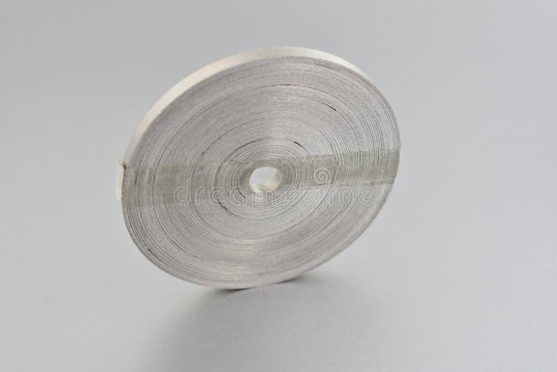 Images d'actions de ruban de magnésium image libre de droits