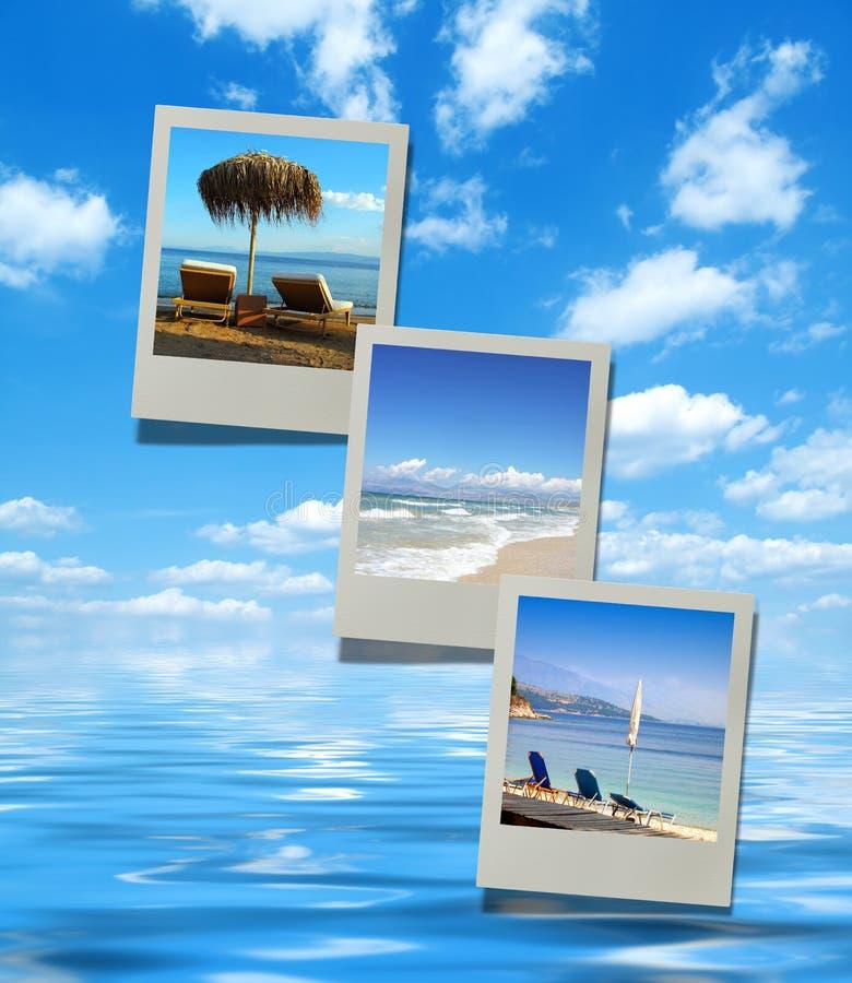 Images de plage d'été illustration stock