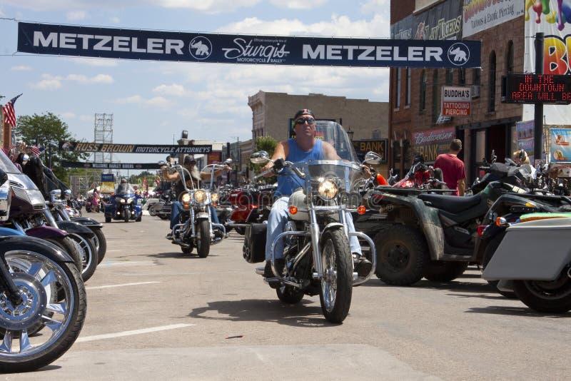 Images de rassemblement le Dakota du Sud de sturgis photos libres de droits