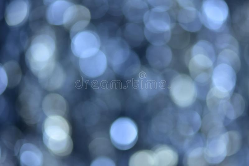 Background and bokeh. The images have beautiful lighting and circular blurred images suitable for the background. To shoot under a tree shade. Blurry images royalty free stock images