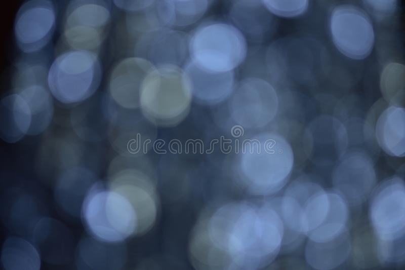Background and bokeh. The images have beautiful lighting and circular blurred images suitable for the background. To shoot under a tree shade. Blurry images royalty free stock photo