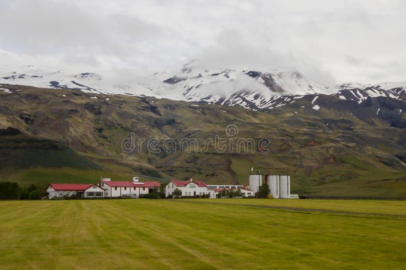 Image of nature and landscapes of iceland royalty free stock images