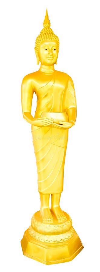 Images thaïlandaises de Bouddha pour les jours de la semaine image libre de droits
