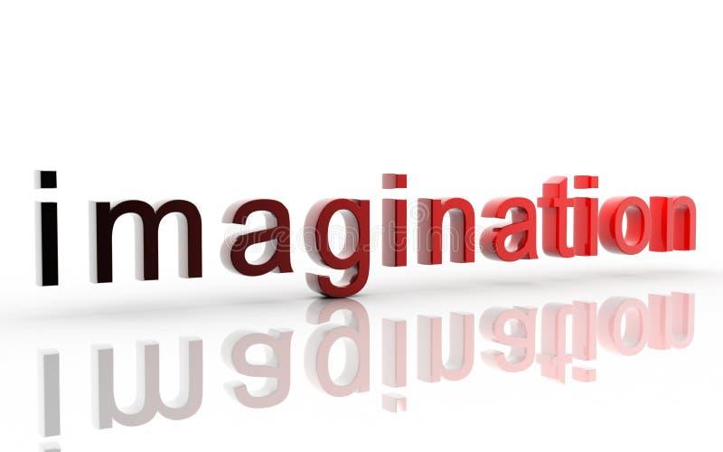 Imaginação ilustração royalty free