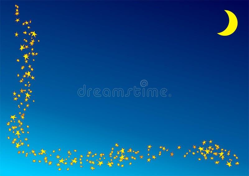 Imaginação da estrela. ilustração do vetor