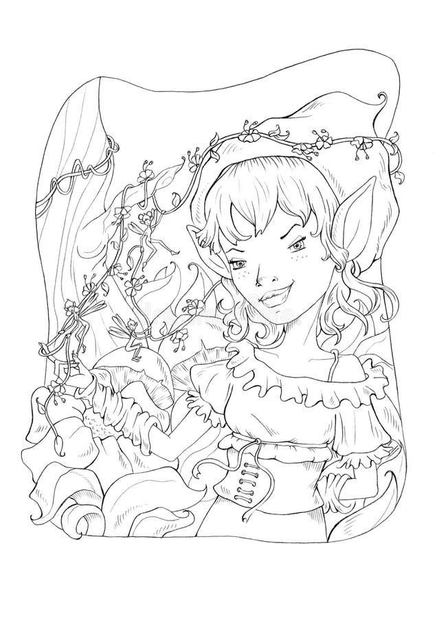 Imagination 2 illustration stock
