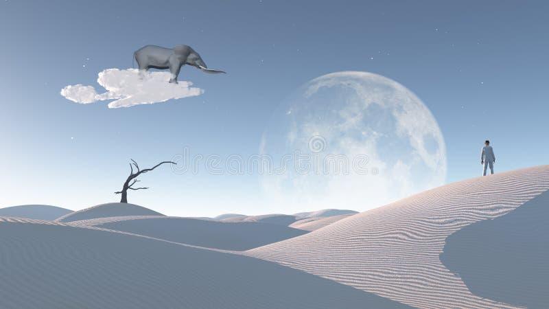 imagination illustration de vecteur