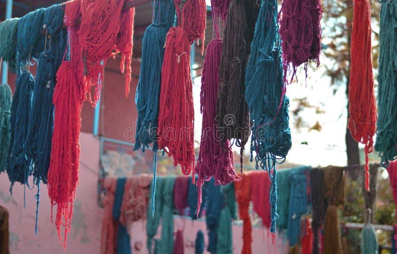 Imagination de couleurs accrochantes images stock