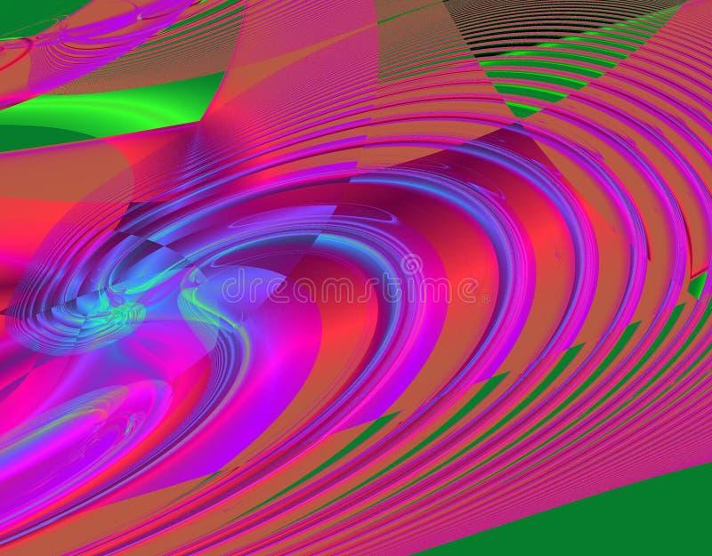 Imagination de fractale pendant de bonnes périodes illustration de vecteur