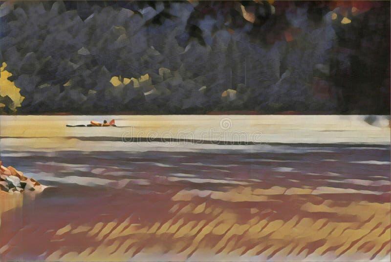 imagination du lac 199_Barcis image stock
