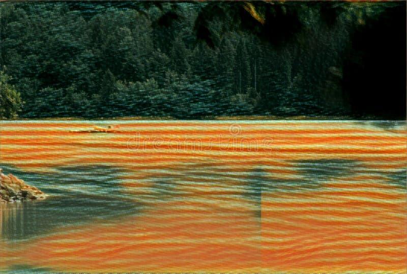 imagination du lac 209_Barcis photo stock