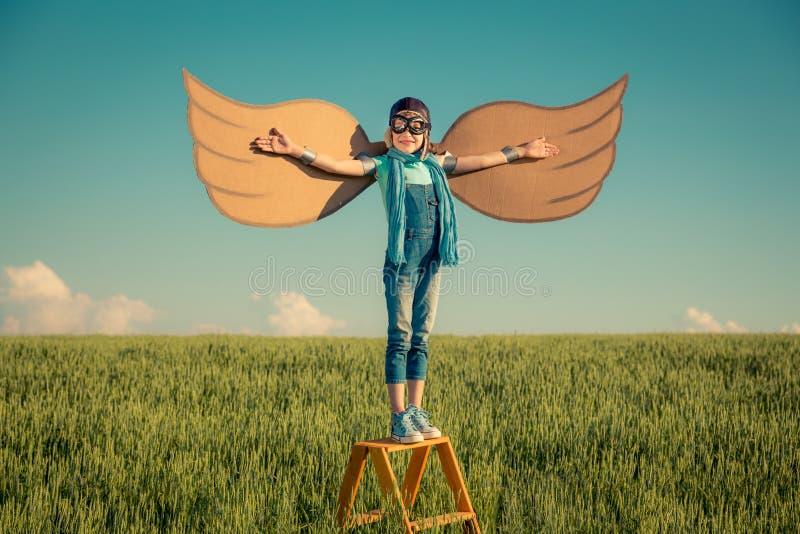 Imagination et concept de liberté images libres de droits