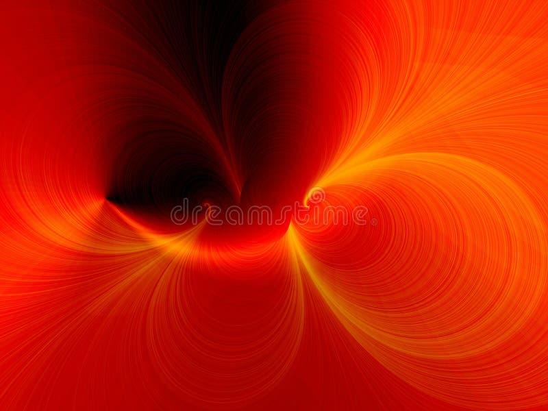 Imagination rouge illustration libre de droits