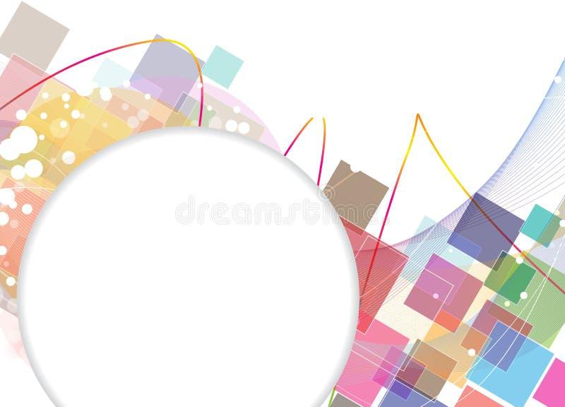 Imagination Squares Background Stock Image