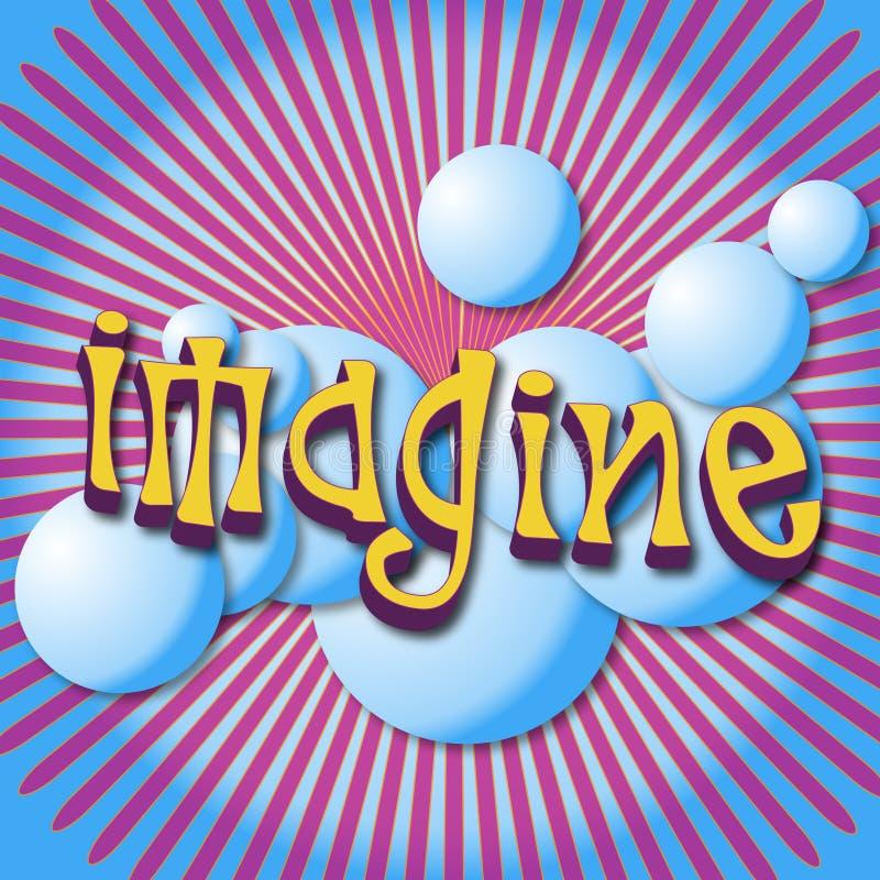 Imagine royalty free illustration