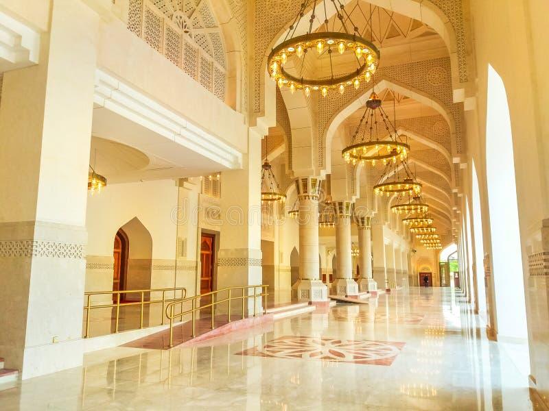 Imam Abdul Wahhab Mosque royaltyfria bilder