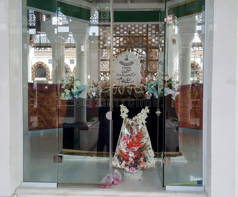 Imam de Nieuwe Geconstrueerde Bouw van Bhari Sarkar Islamabad royalty-vrije stock foto's