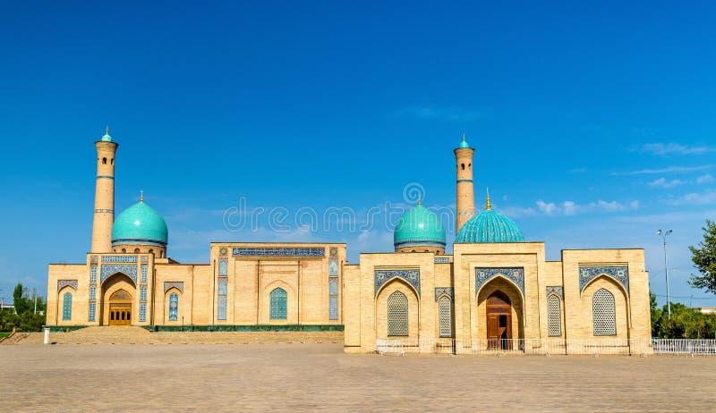 Imam Ensemble in Taškent, l'Uzbekistan di Hazrat immagine stock libera da diritti