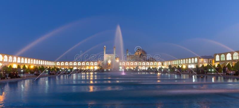 Imam Mosque à la place de Naghsh-e Jahan à Isphahan, Iran photo stock